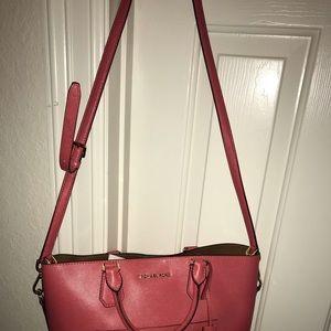 Coral Michael Kors Handbag